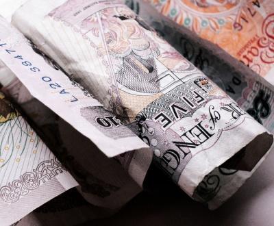 Photo of British Pound notes