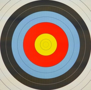 Photo of archery target