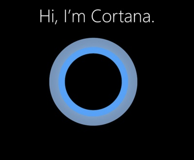Image of Cortana - personal assistant